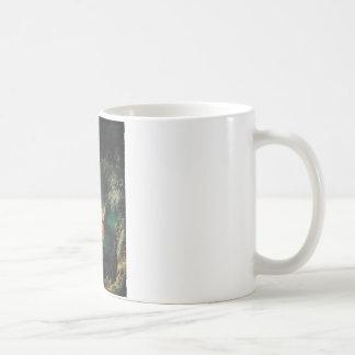 O balanço caneca de café