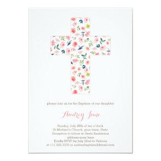 O baptismo convida, convites do batismo da menina