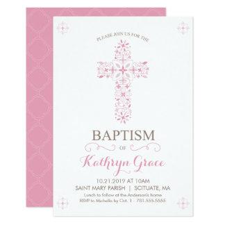 O baptismo, convite do batismo, bebés convida