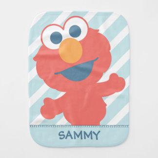 O bebê Elmo   adiciona seu nome Paninho Para Bebês