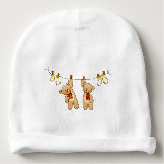 o bebê junta brinquedos (ursos de ursinho & as gorro para bebê