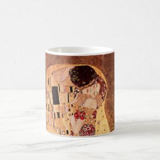 O beijo por Gustavo Klimt Caneca De Café