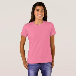 O Bella das meninas+T-shirt do grupo das canvas Tshirt