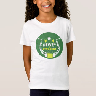 """O Bella """"Dewey da menina para o presidente"""" camisa"""