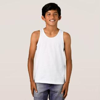 O Bella dos meninos+Camisola de alças do jérsei T-shirts
