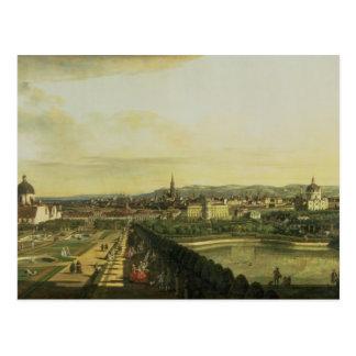 O Belvedere de Gesehen, Viena Cartão Postal