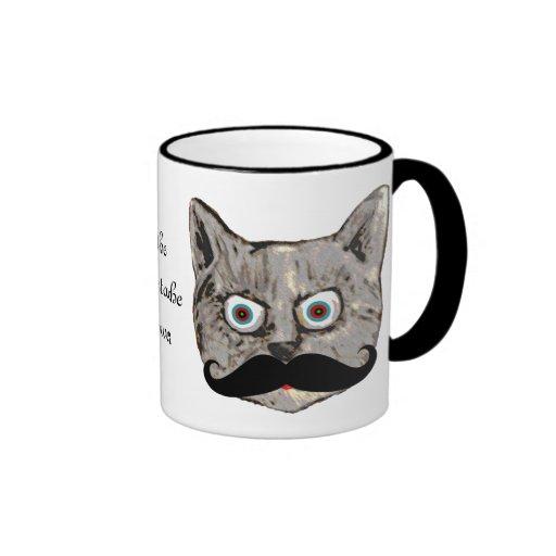 o bigode do gato caneca