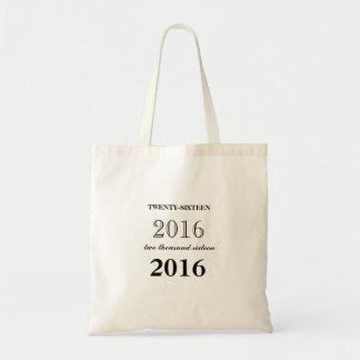 O bolsa 2016 personalizado da graduação no preto