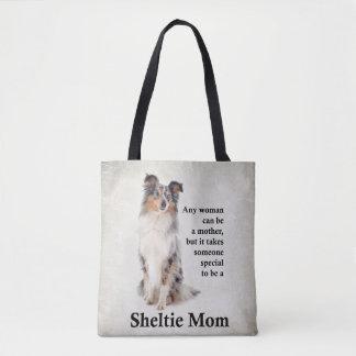O bolsa azul da mamã de Merle Sheltie