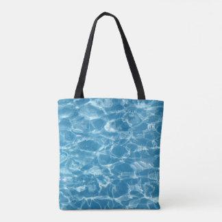 O bolsa bonito do verão das ondinhas da água azul
