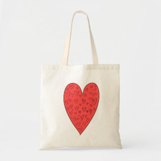 O bolsa bonito dos corações