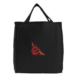 O bolsa chinês do dragão do fogo