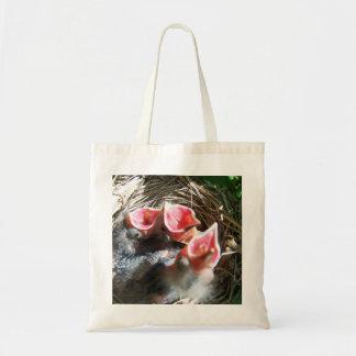 O bolsa com fome dos bebês
