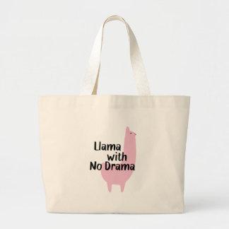 O bolsa cor-de-rosa do lama