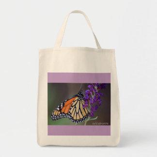 O bolsa da borboleta de monarca