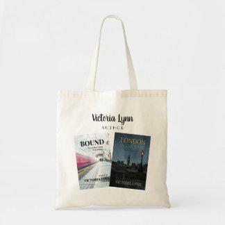 O bolsa da capa do livro de Victoria Lynn