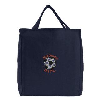 O bolsa da menina do futebol