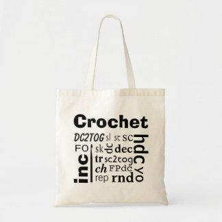 O bolsa das abreviaturas do Crochet
