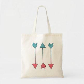 O bolsa das setas do algodão doce