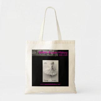 O bolsa de morte da cisne do rosa de Anna Pavlova