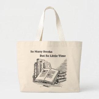 O bolsa de tão muitos livros