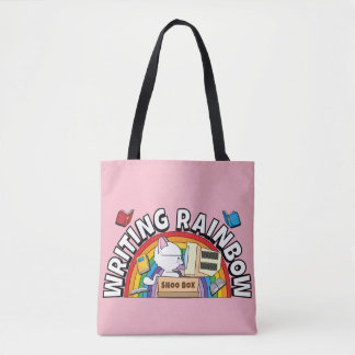O bolsa do arco-íris da escrita