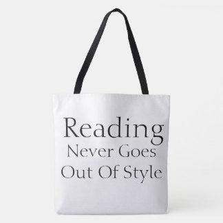 O bolsa do estilo de leitura