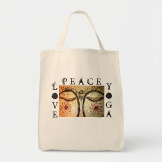 O bolsa do mantimento das canvas de arte de Buddha