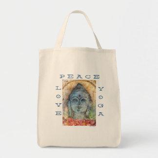 O bolsa do mantimento das canvas de Buddha da ioga