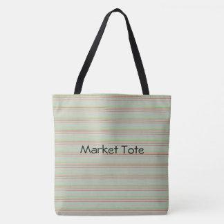 O bolsa do mercado da verde azeitona