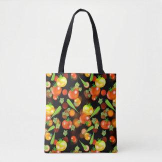 O bolsa do mercado do impressão do jardim do