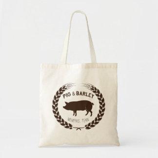 O bolsa do mercado do porco & da cevada