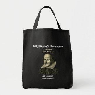 O bolsa dos monólogos de Shakespeare, preto