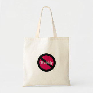O bolsa engraçado nao borbulhante