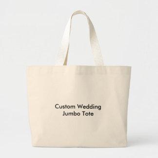 O bolsa feito sob encomenda do jumbo do casamento