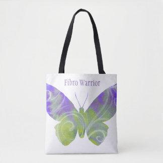 O bolsa fibro da borboleta com punhos pretos