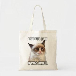 O bolsa mal-humorado do gato