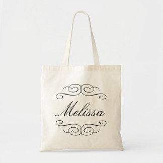 O bolsa personalizado dama de honra do presente do