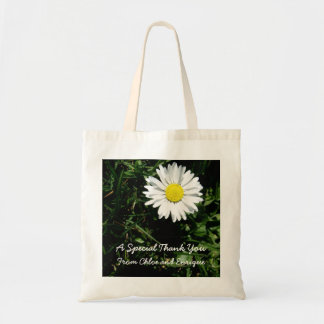 O bolsa personalizado do casamento da margarida