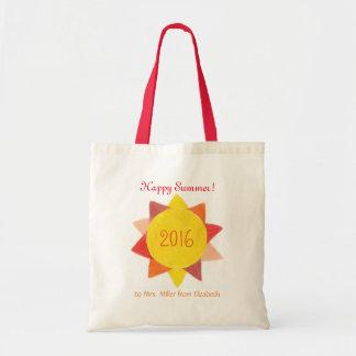 O bolsa personalizado do presente do professor -