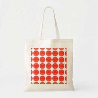 O bolsa - pontos vermelhos bolsa tote
