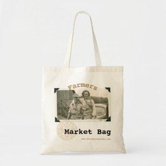 O bolsa tecido do mercado dos fazendeiros de