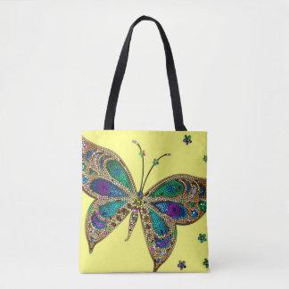 O bolsa telhado bonito da borboleta