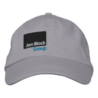 O boné bordado grupo do bloco de Jon (lado)