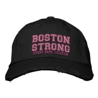O boné forte da edição da fita de Boston