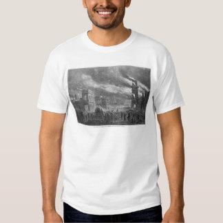 O Burning de Colômbia pelo general Sherman Tshirts
