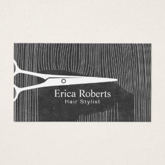 O cabeleireiro Scissor o cabeleireiro do quadro Cartão De Visitas