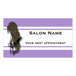 O cabeleireiro triguenho Scissors o cartão da Cartão De Visita