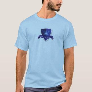 O cadete programa o t-shirt