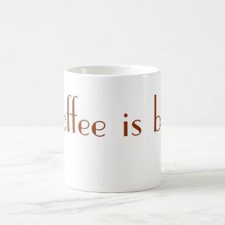 O café é Bae (a caneca) Caneca